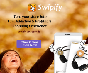 Shopify swipify app for mobile